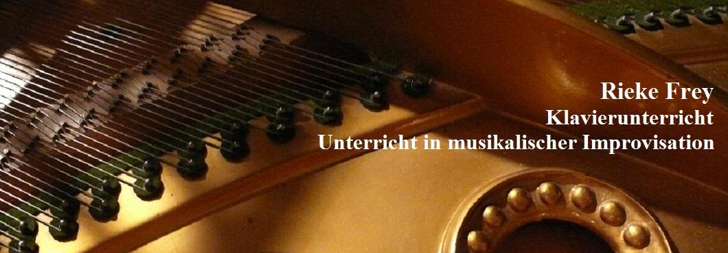 Rieke Frey - Klavierunterricht und Unterricht in musikalischer Improvisation